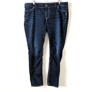 Silver Jeans SUKI Super Skinny Flap Pocket 20 L31